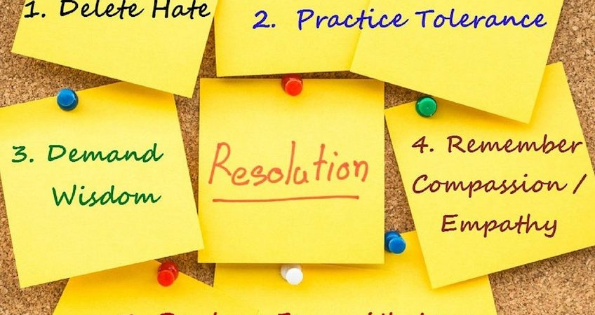 Why we should make New Year's Resolutions